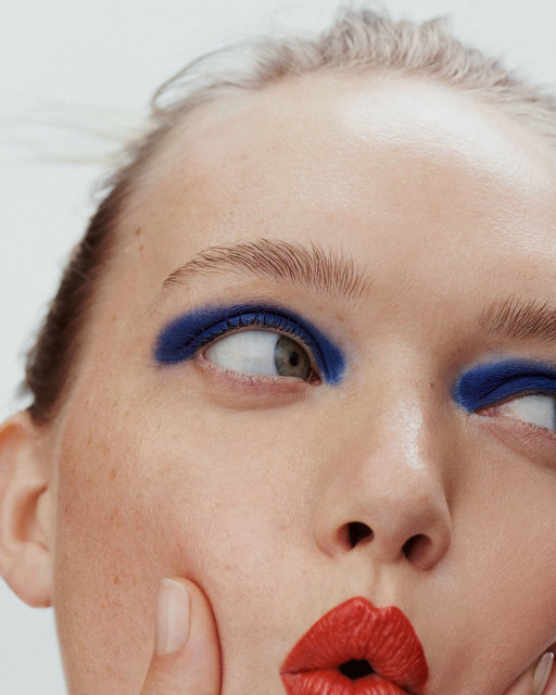 Gemma Ward by Nicolas Kantor Beauty