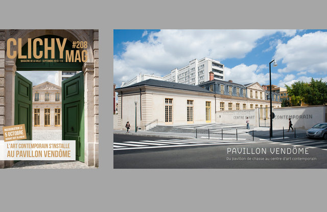 Pavillon Vendôme - Centre d'art contemporain // Client: Ville de Clichy-la-Garenne.