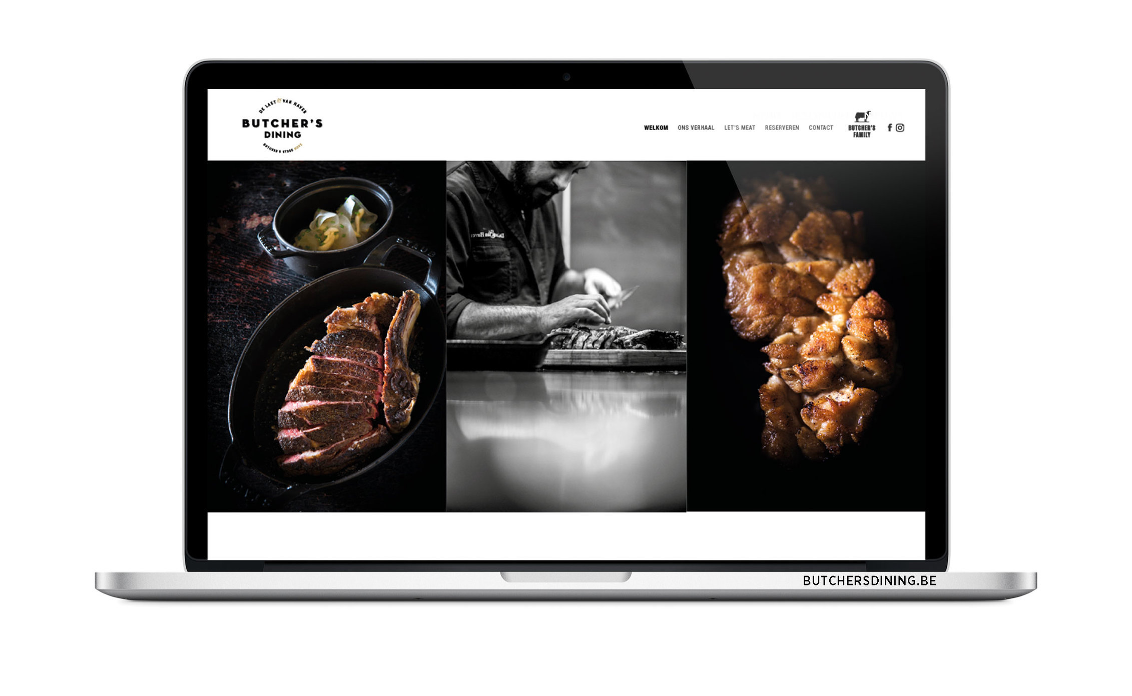 BUTCHER'S DINING - website ism Kaplus