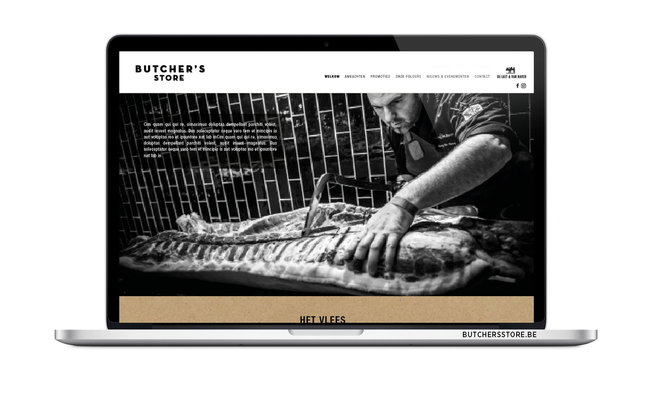 BUTCHER'S STORE - website ism Kaplus