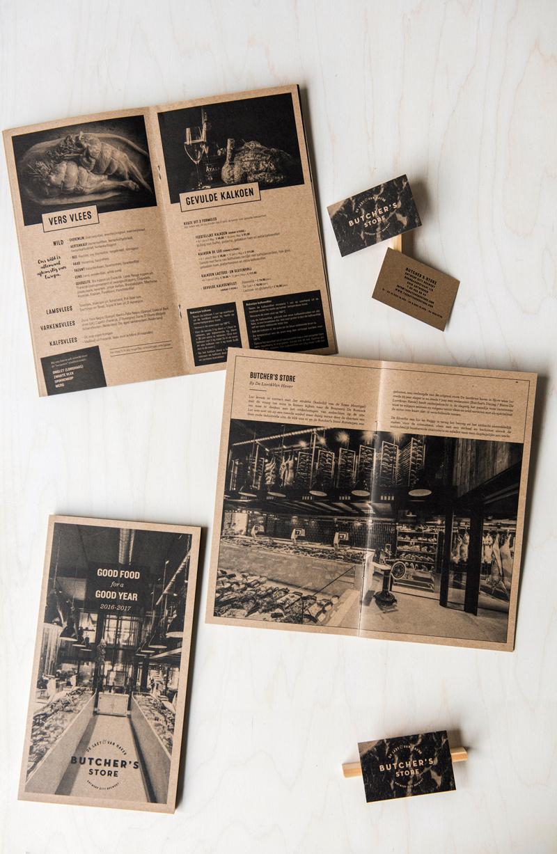 BUTCHER'S STORE - brochures