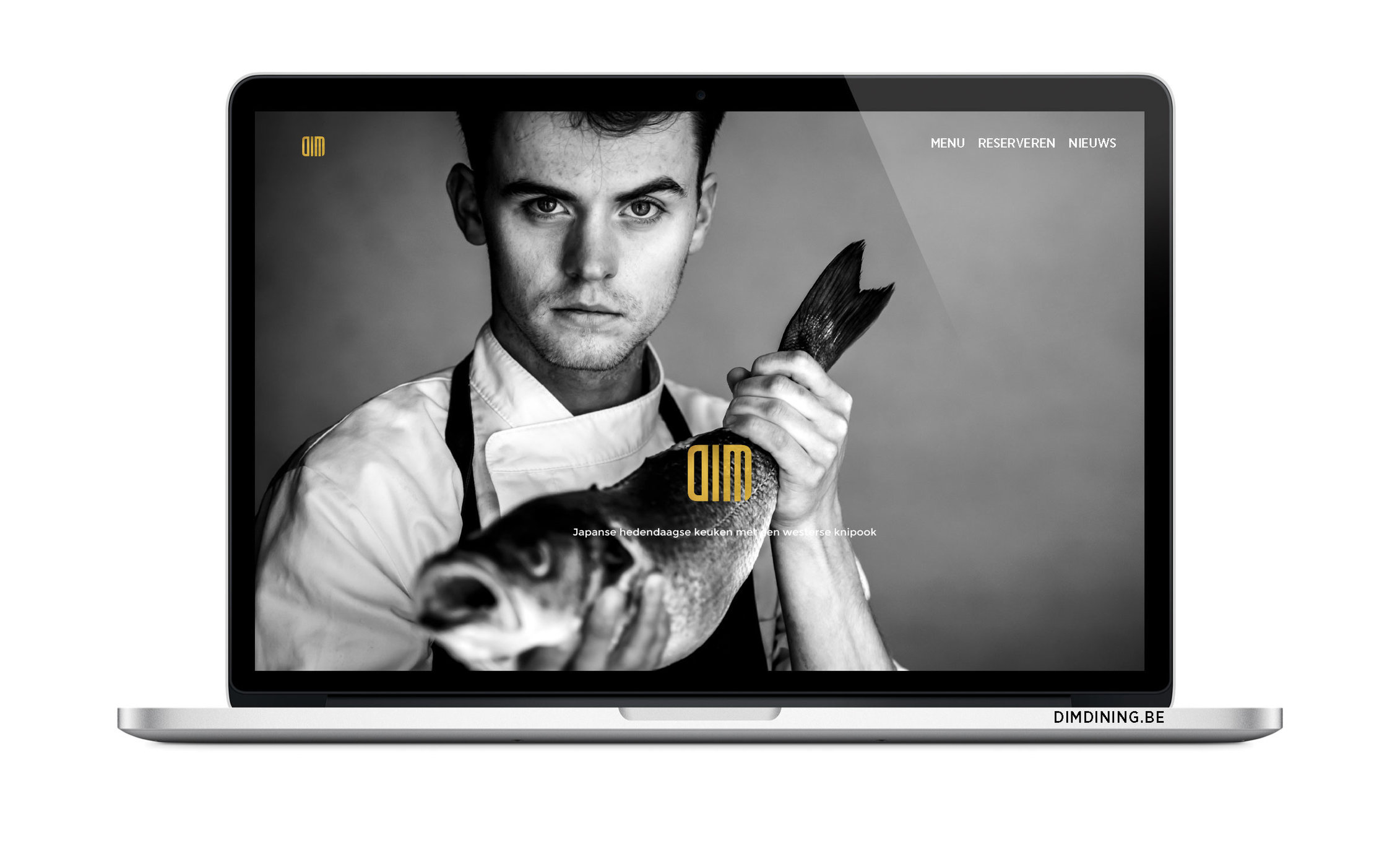 DIM DINING - ontwerp website