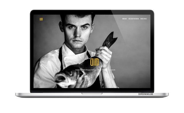 DIM DINING - ontwerp website