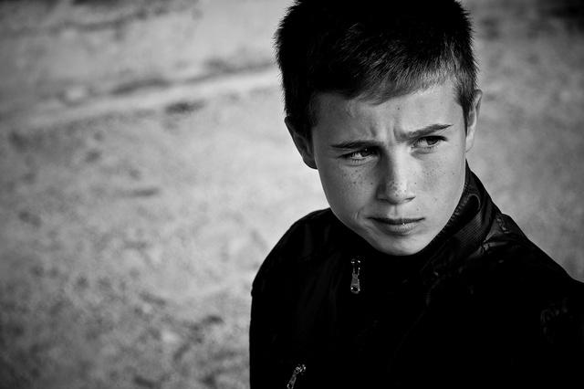 Un bambino del parco Verde seguito dall'associazione Un Infanzia da Vivere