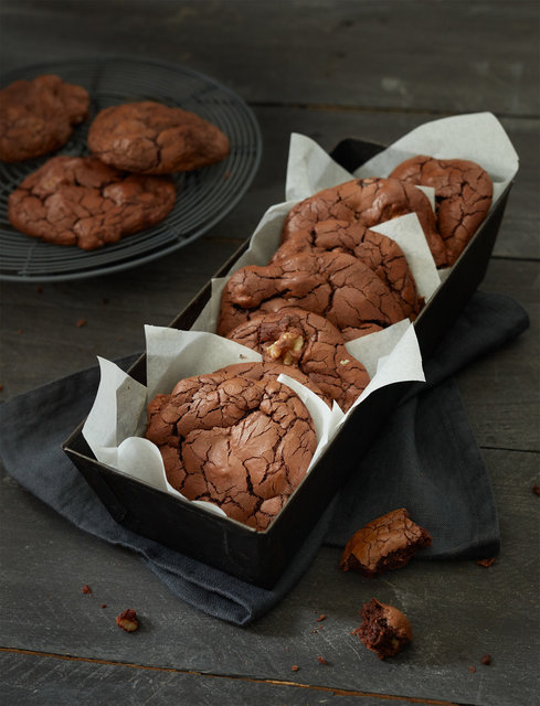 Chocolate Fudge Cookies