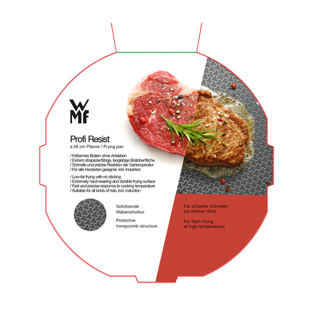 WMF Relaunch Pfannen Verpackung