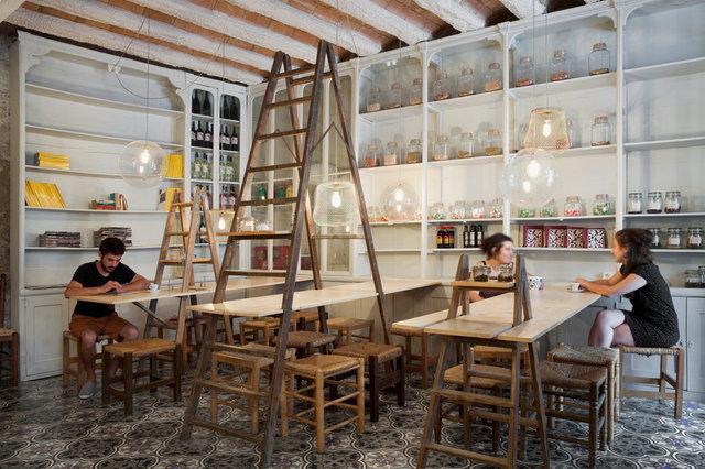 Cafe. Llimona Taller Arquitectura