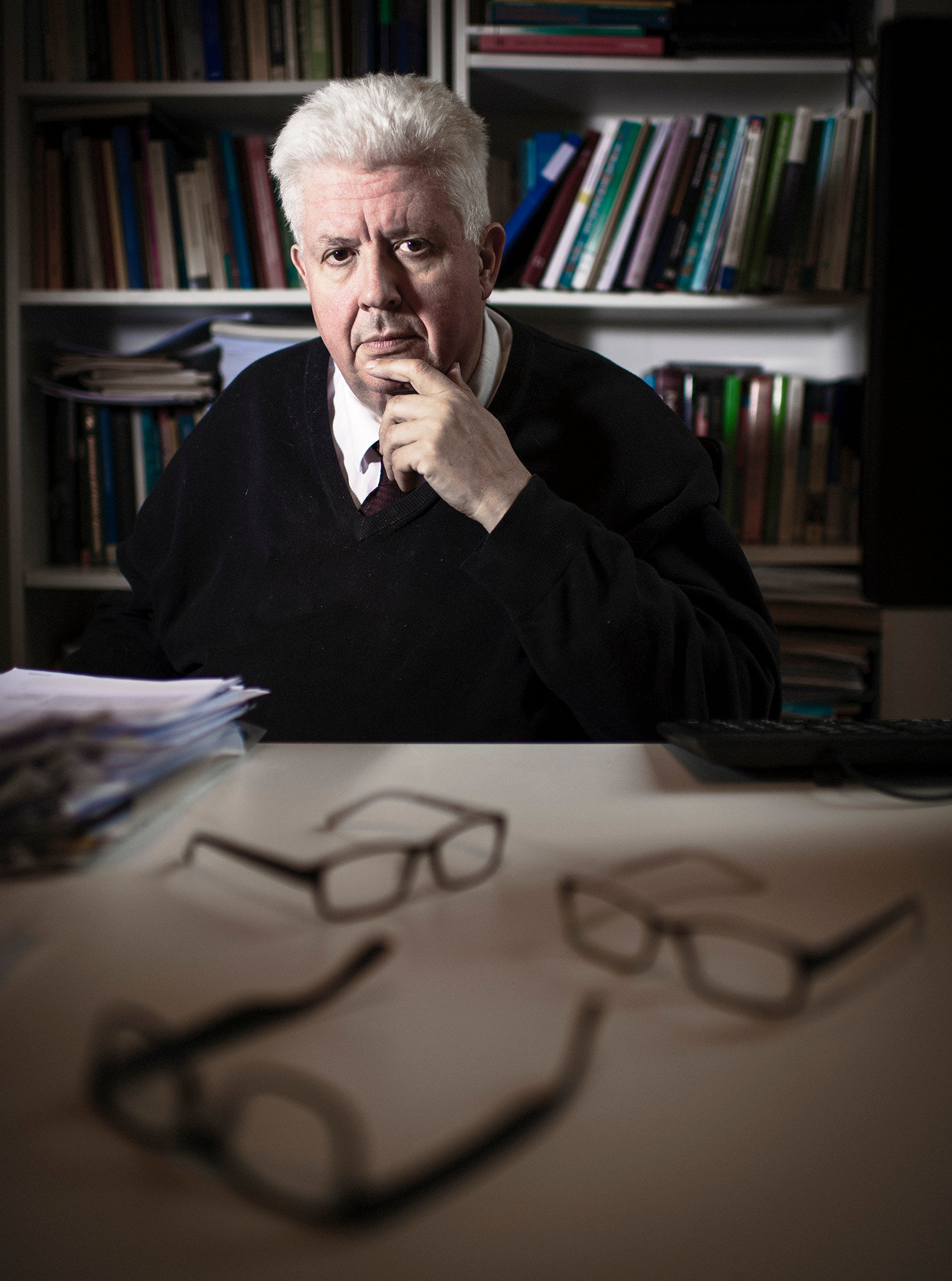 Hoogleraar Frist van der Meer, CAOP-professor Comparative Public Sector and Civil Reform