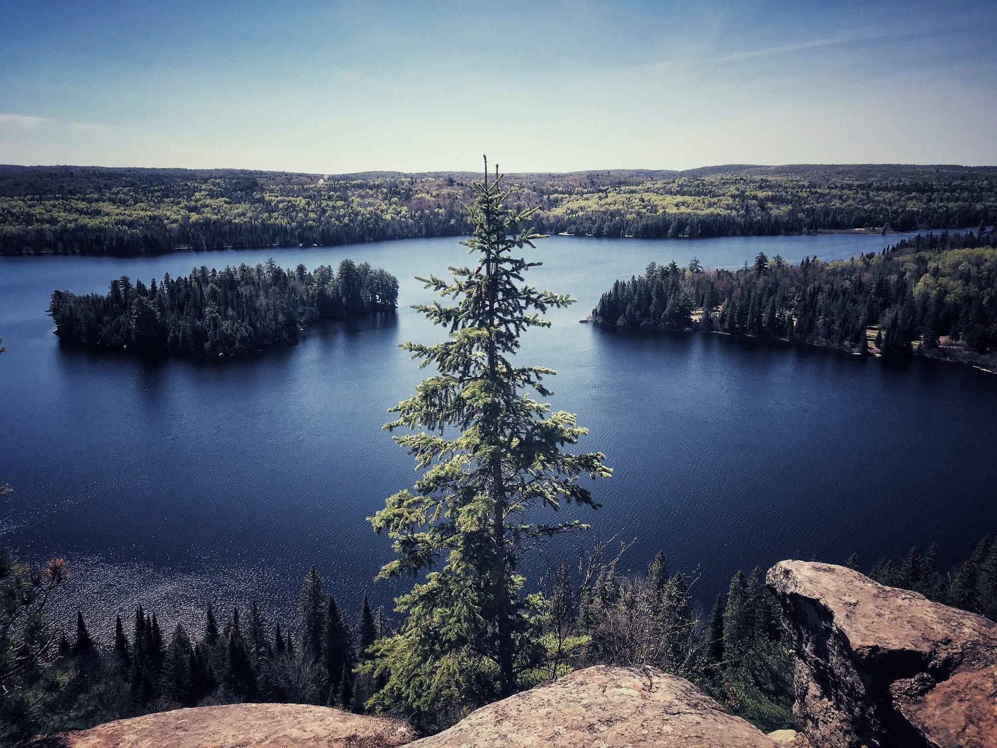 Scene from the Centennial Trail in Algonquin Park, Canada