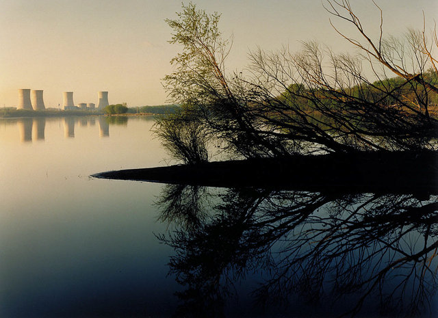 John_Pfahl--Power places--Three Mile Island Nuclear Plant, Susquehanna River.jpg