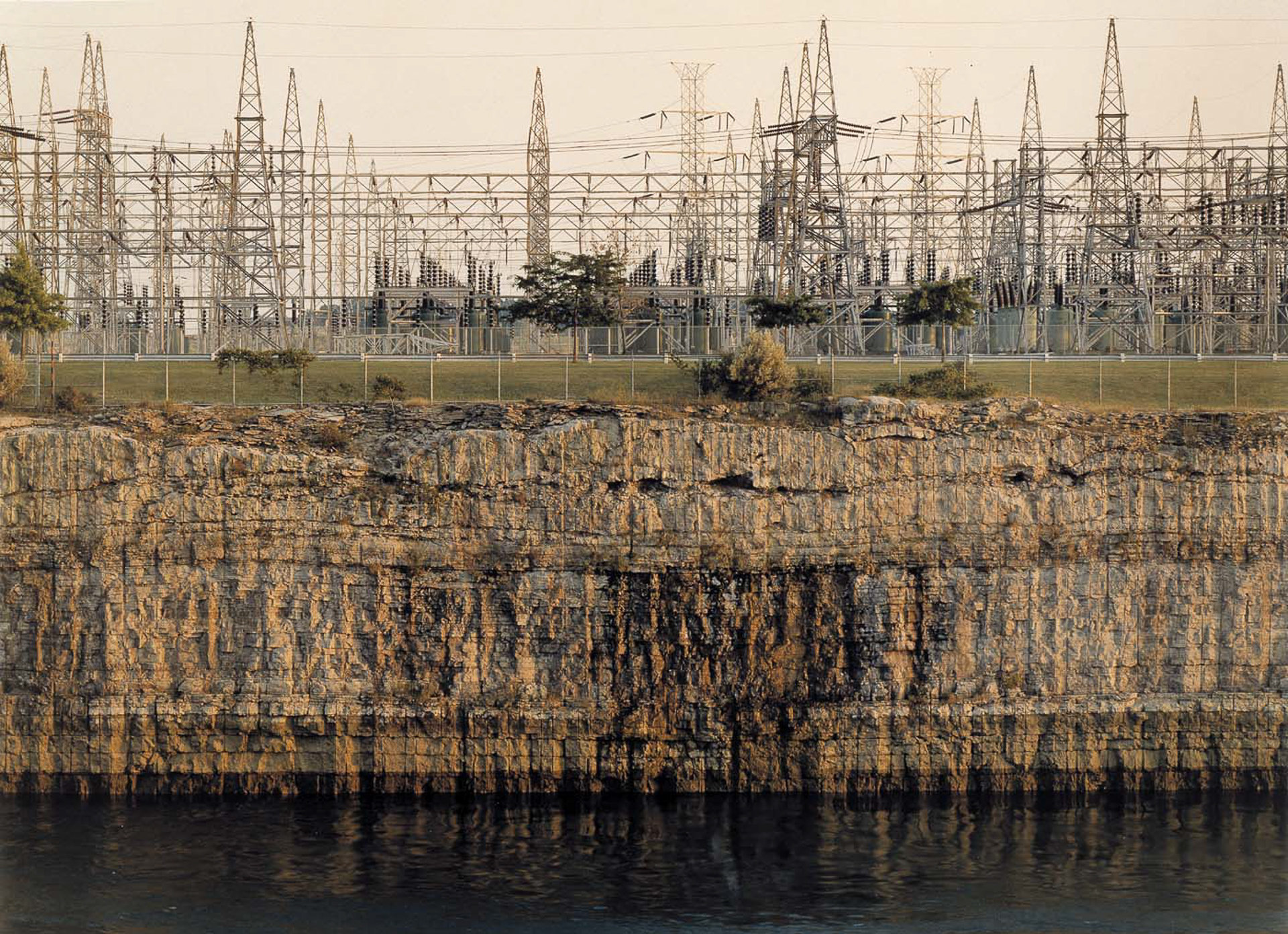 John_Pfahl--Power places--Niagara Power Project, Niagara Falls.jpg