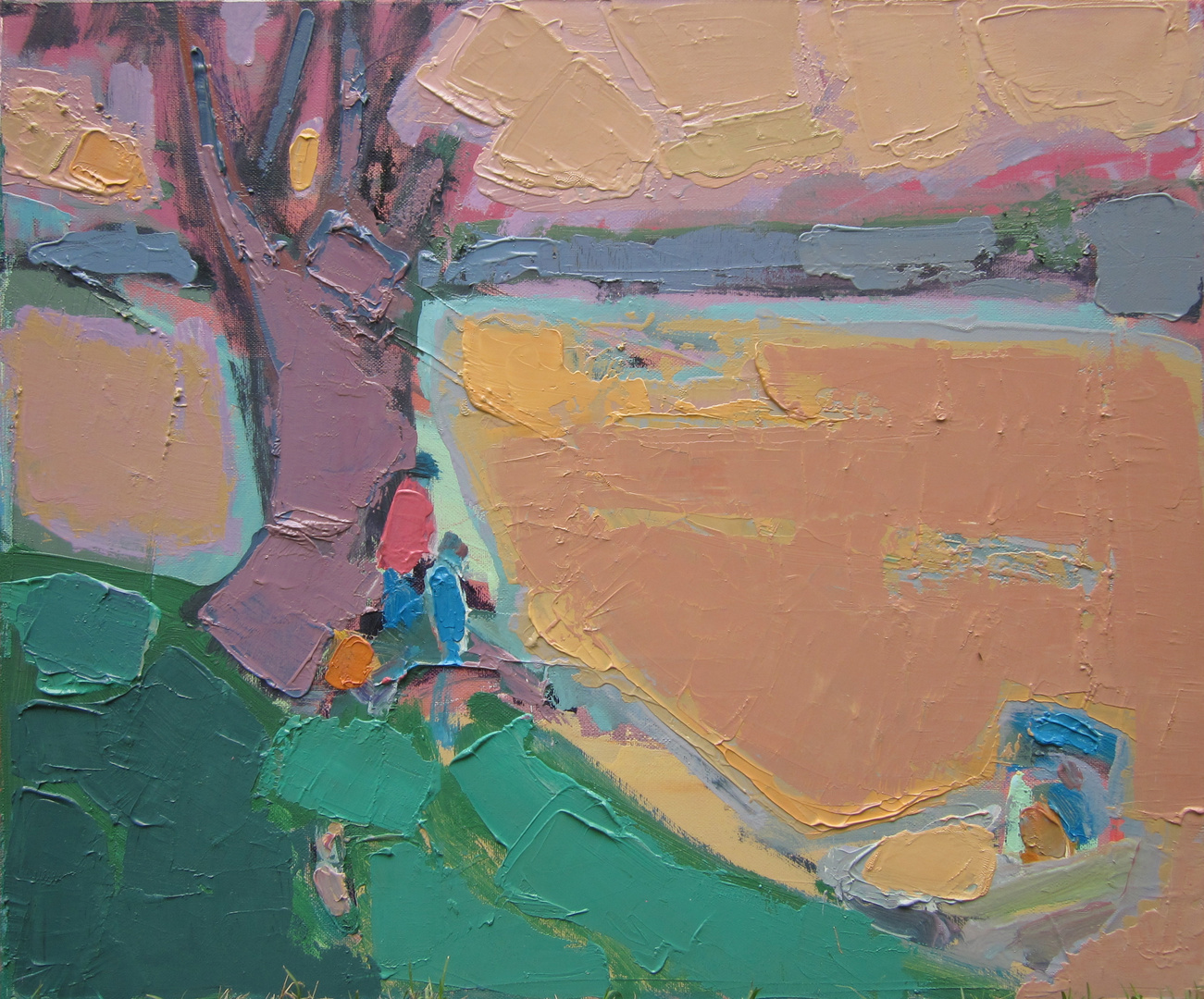 'Next to the river II'