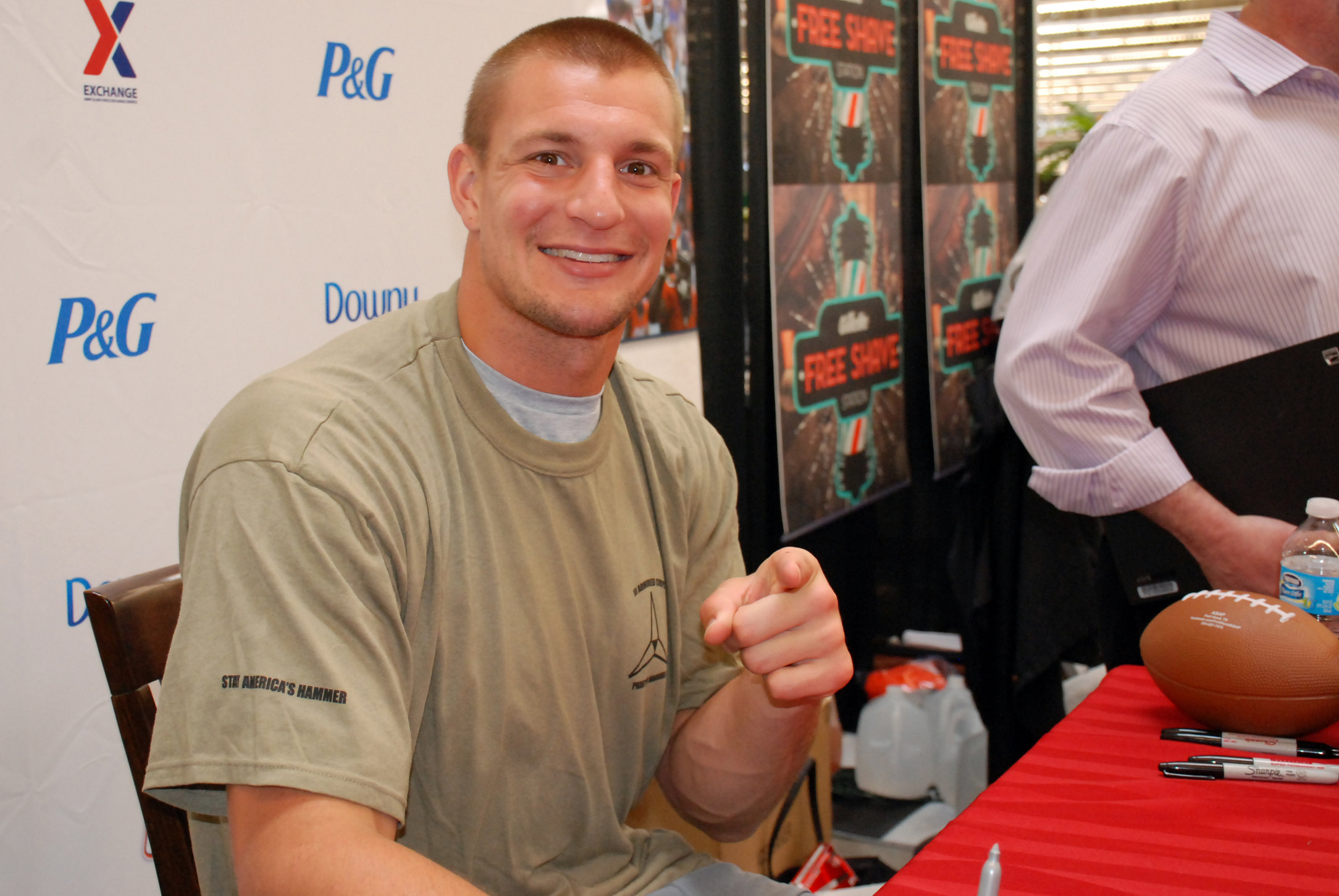 NFL superstar and Pro Bowl tight end, Rob Gronkowski