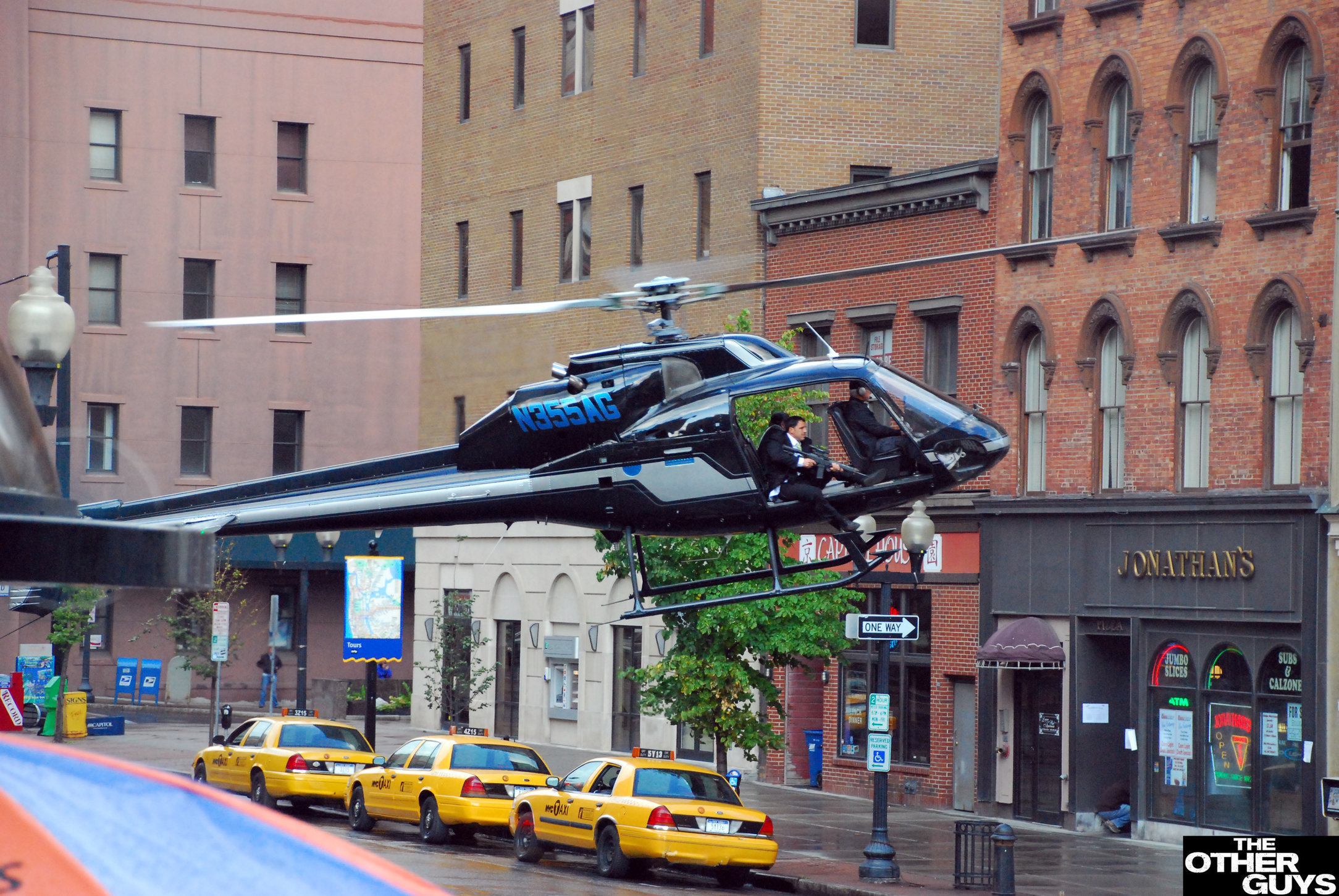"""Filming of """"The Other Guys"""" - NY"""