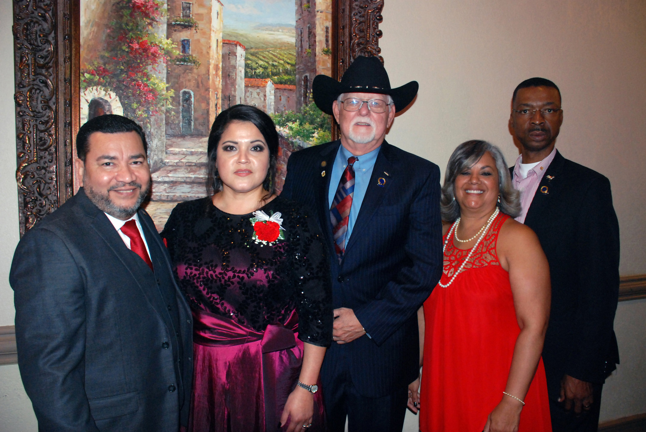 41st Anniversary Banquet of Sociedad Cultural Hispanoamericana (Hispanic-American Cultural Society) on April 1, 207 at Club Hood on Fort Hood