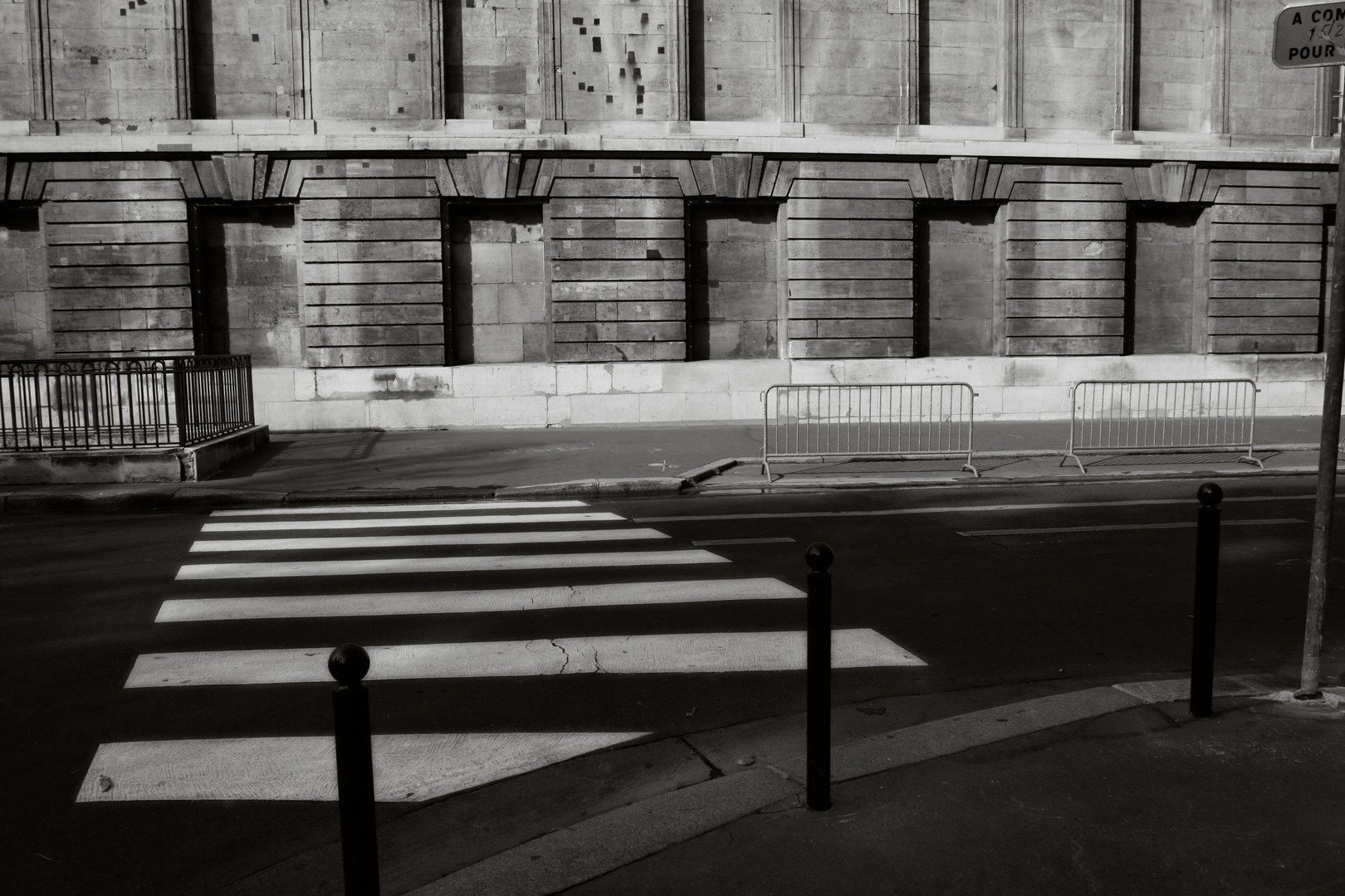 Parisian Crosswalk