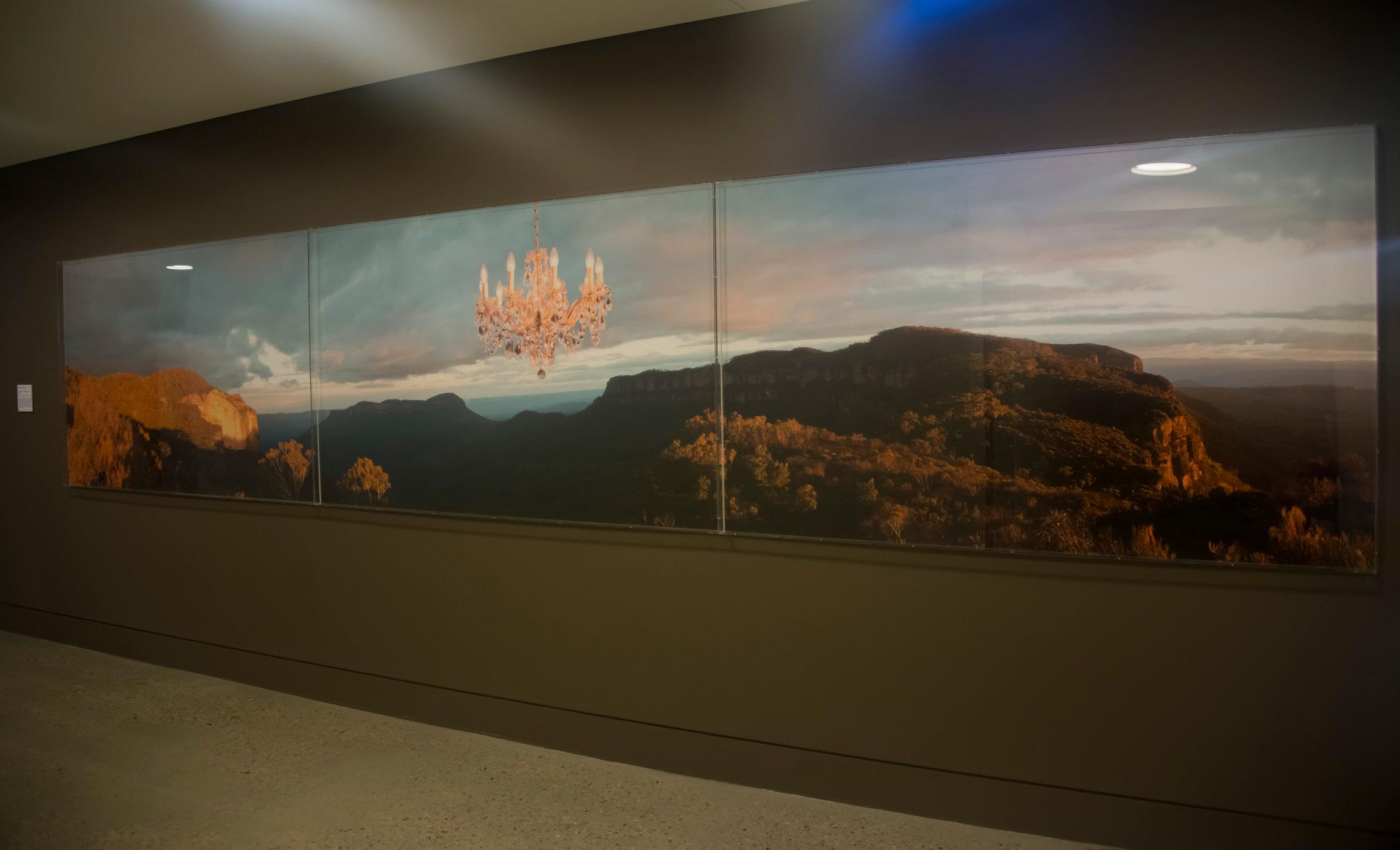 Permanent Public Art Commission Blue Mountains Cultural Centre 2013 'Illumination, Blue Mountains'