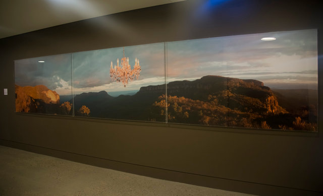 Nicole Welch Permanent Public Art Commission Blue Mountains Cultural Centre 2013 'Illumination, Blue Mountains'
