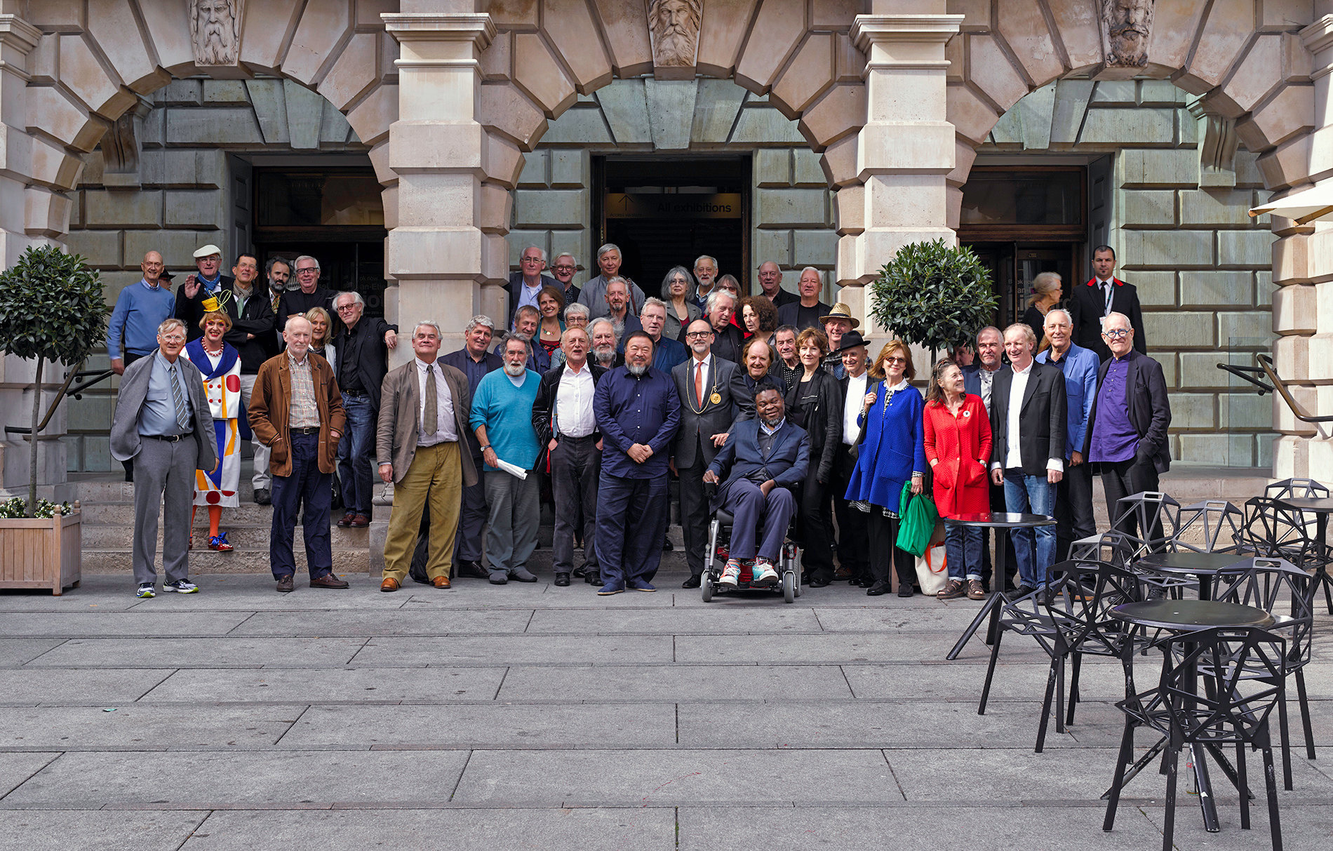 Royal Academicians September 2015