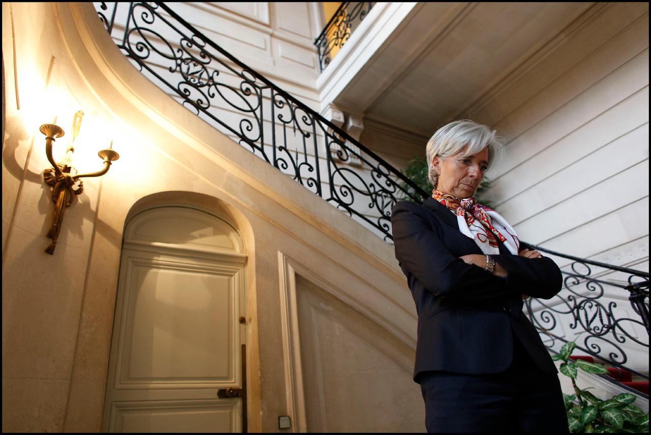Christine Lagarde, présidente du FMI