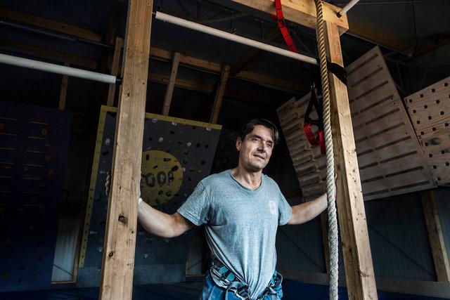 """""""Fornaro"""", climber"""