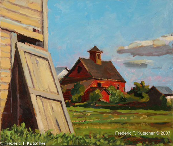 Barn Door Off Rail (Skagit Valley (study)