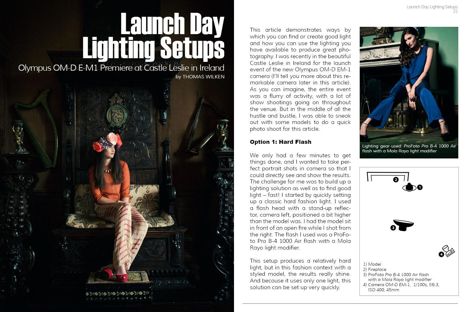Veröffentlichung im Good Light Magazine