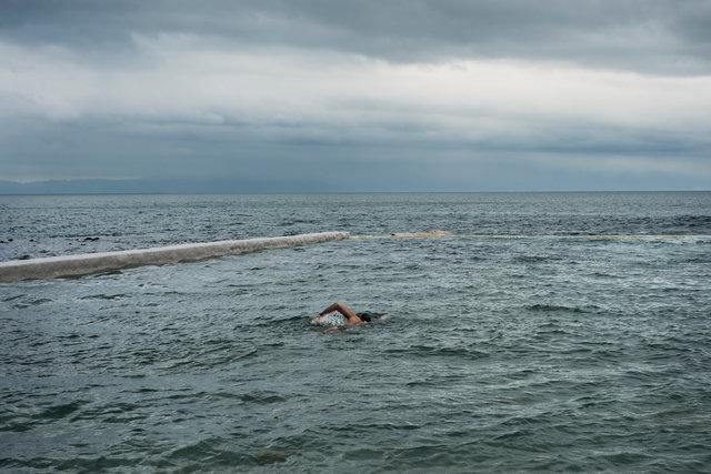 Morning Swimmer I