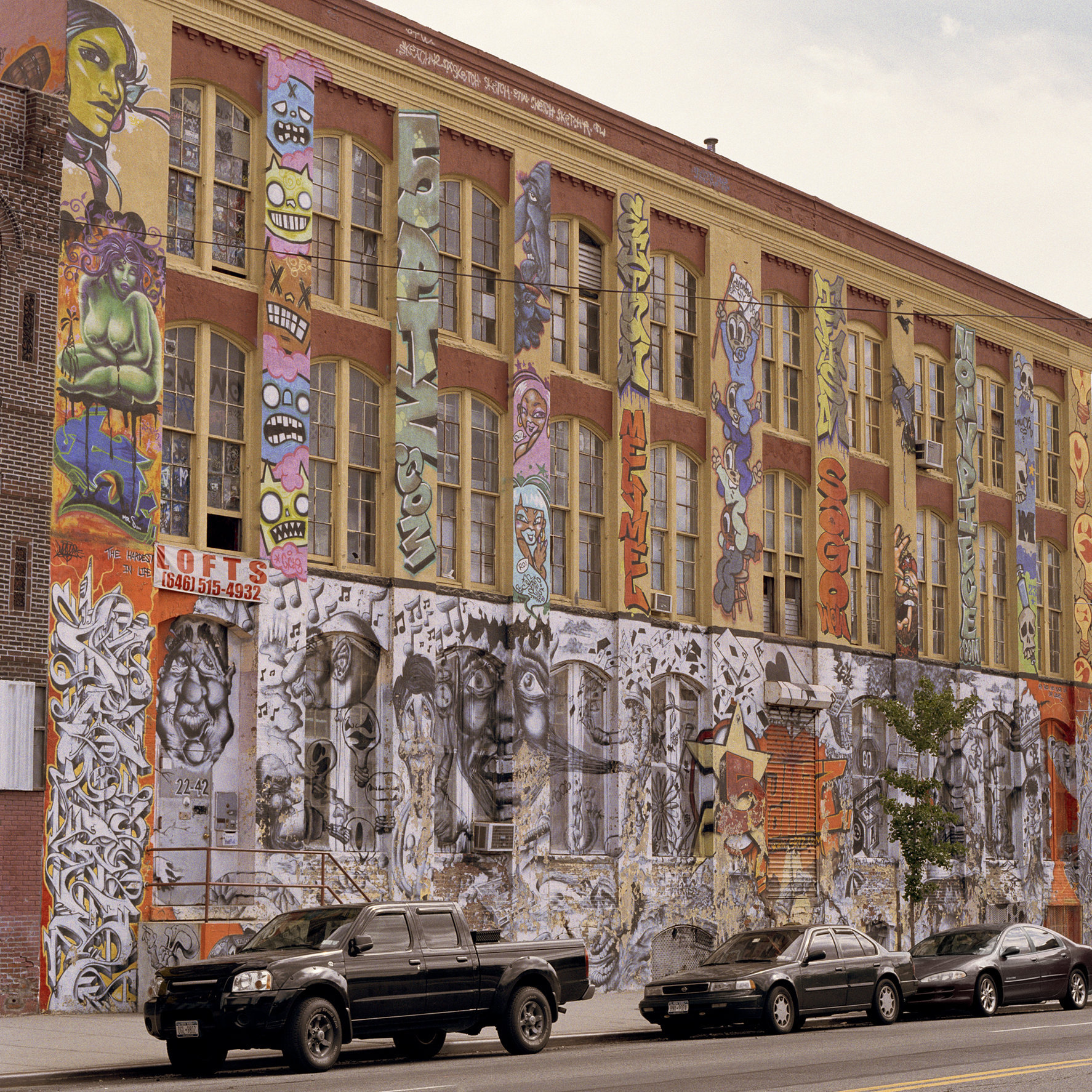 Graffiti Building