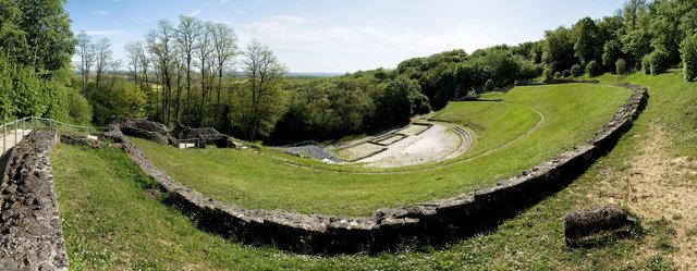 Théâtre gallo-romain des Bouchauds  -  Client: Conseil Général de la Charente