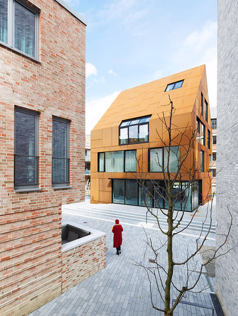STEEL HOUSE KIEL for Böge Lindner BLK2 Architects