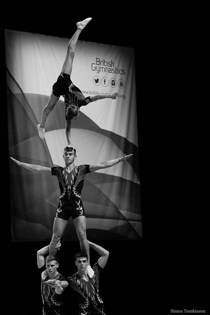 Spelthorne Gymnastics - Conor Sawenko, Charlie Tate, Adam Upcott & Lewis Watts
