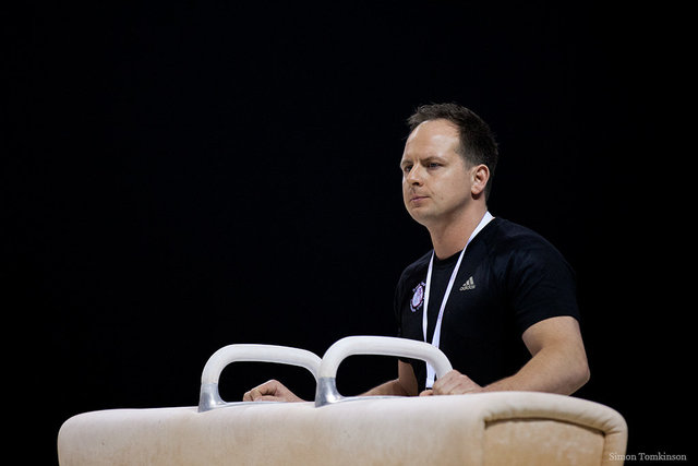 Scott Hann - South Essex Gymnastics Team coach