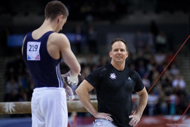 Max Whitlock & coach Scott Hann