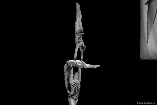 Richmond Gymnastics Association - Jennifer Bailey, Roxy Parker & Gabby Potter