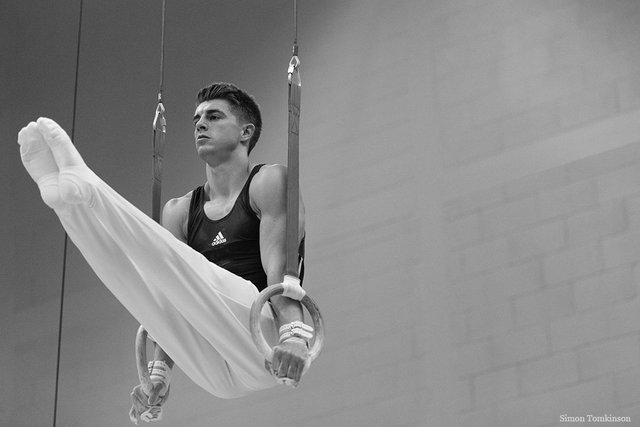 Max Whitlock (double Olympic gold medalist & three time World Champion), South Essex Gymnastics Club