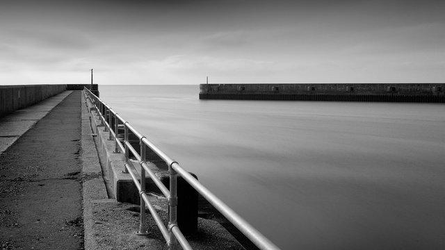 Shoreham Harbour Breakwaters