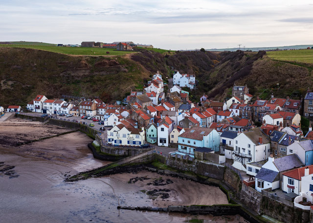 Staithes Seafront