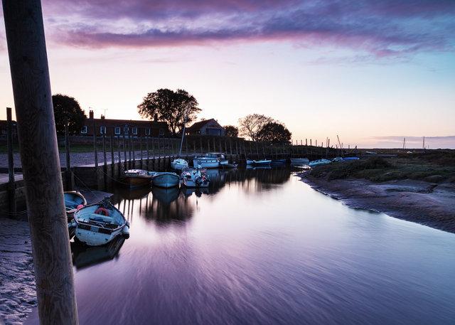 Sunset at Blakeney Harbour