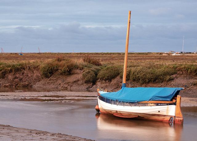 Boat in Blakeney