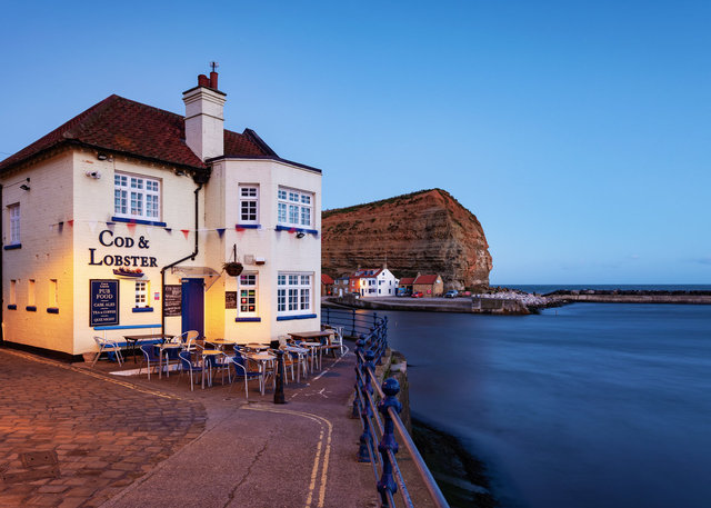 Cod and Lobster Pub, Staithes