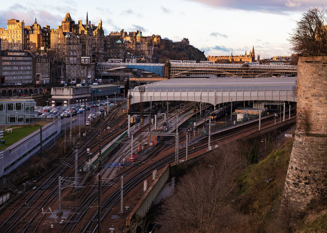 Edinburgh Waverley Railway Station II