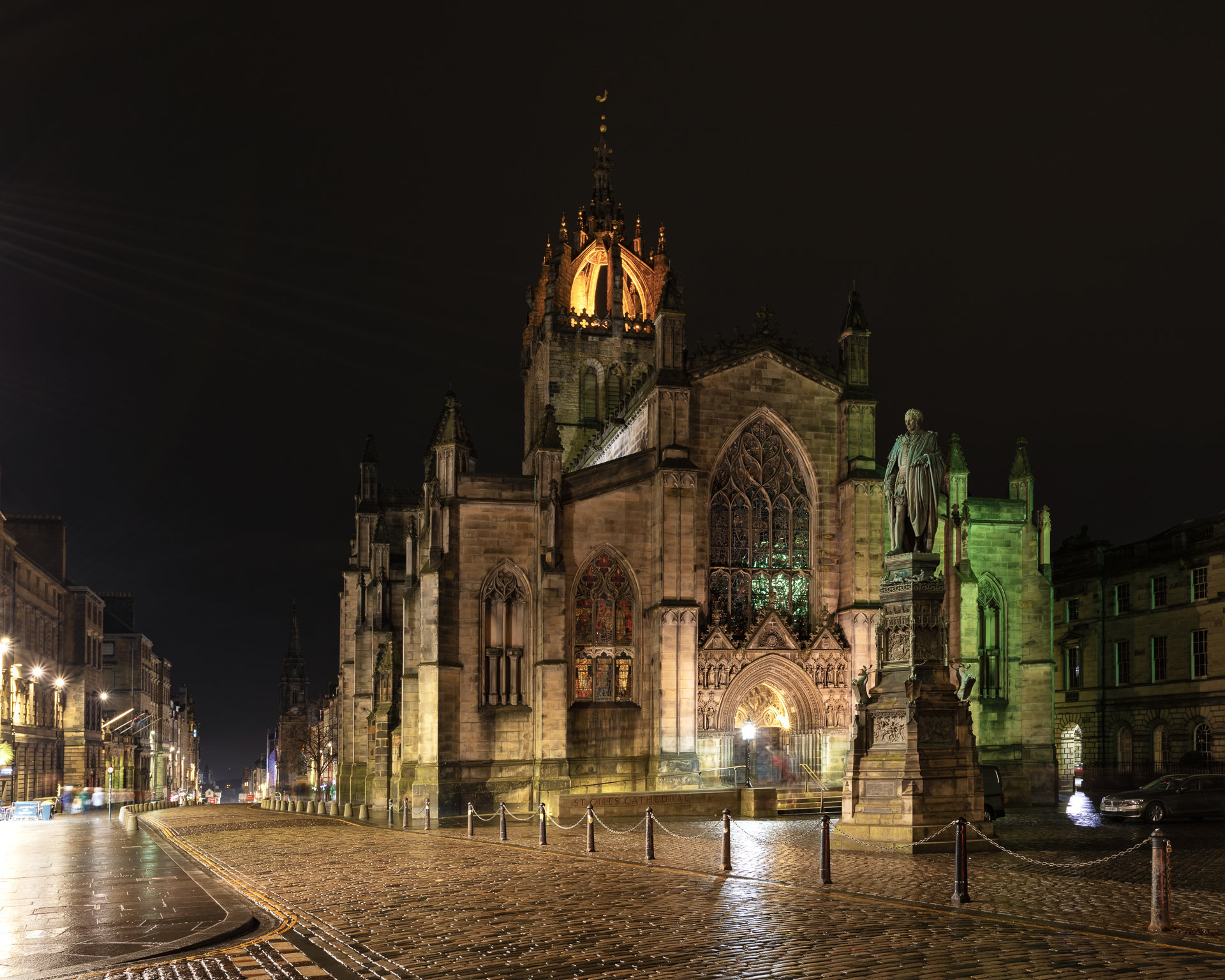 St Giles' Cathedral, the High Kirk of Edinburgh