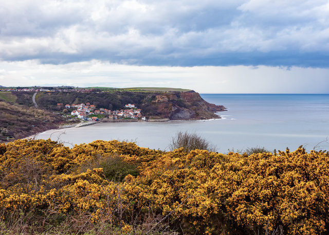 Runswick Bay from Cleveland Bay