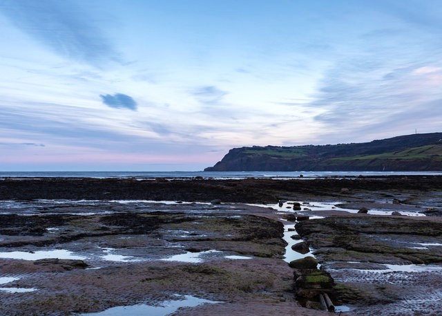 Beach at Robin Hood's Bay