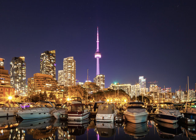 CN Tower and Harbourfront