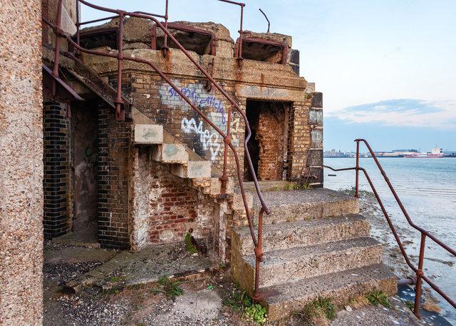 Grain Tower Battery XXVIII
