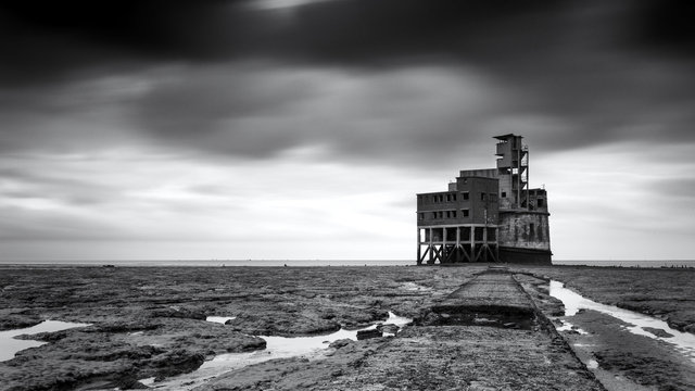 Grain Tower Battery XVIII