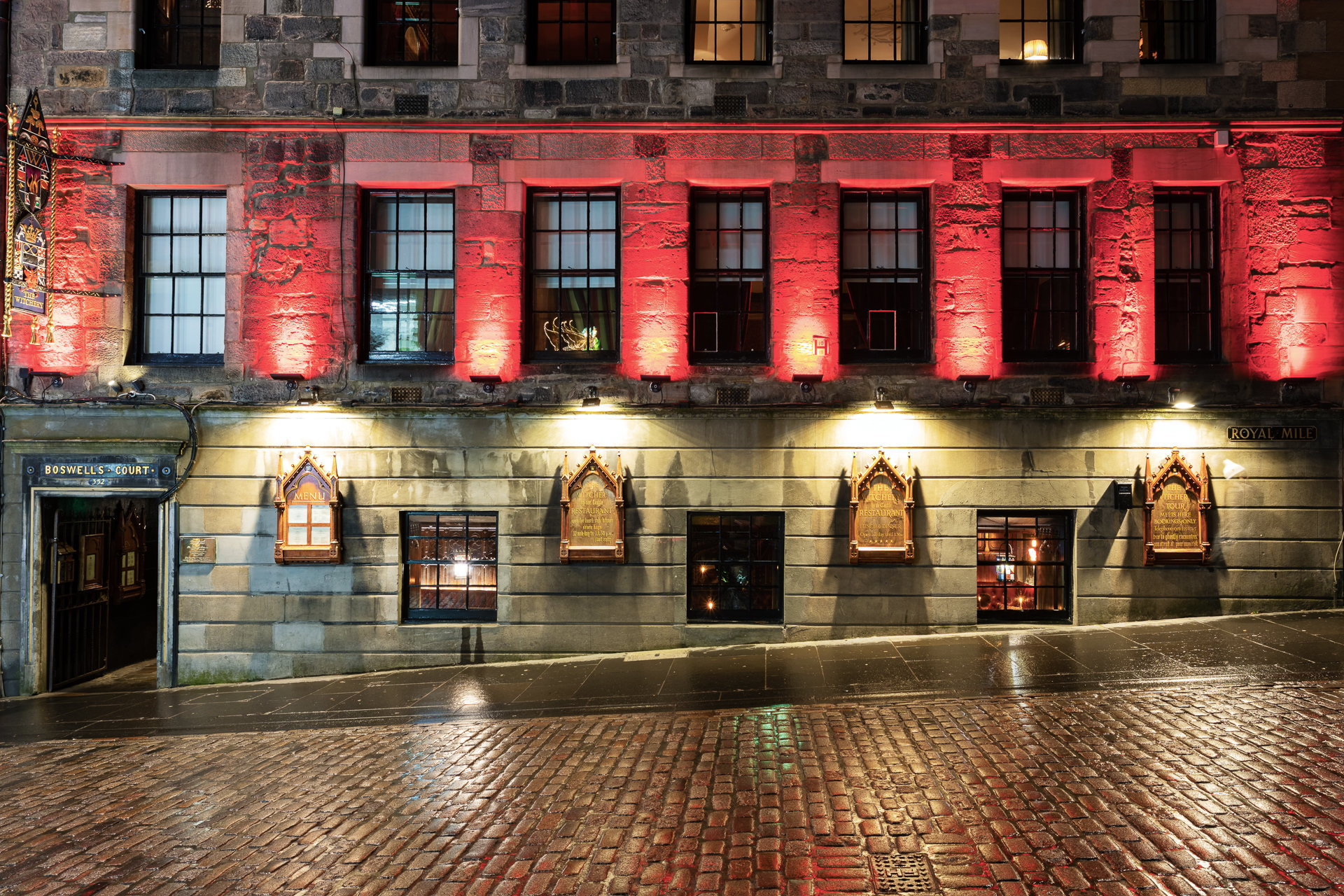 Boswell's Court at Royal Mile