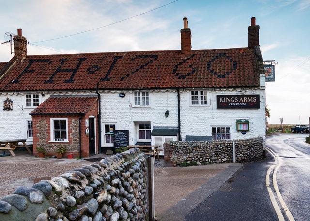 Kings Arms pub, Blakeney